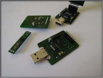 18F2420 & FT232 serial to USB converter